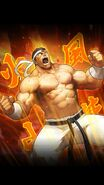 Goro Daimon the king of fighters all stars