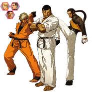 Art of fighting team kof02