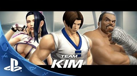THE KING OF FIGHTERS XIV - Team Kim Trailer - PS4