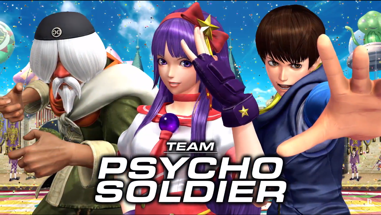Psycho Soldiers Team