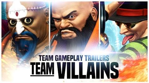 THE KING OF FIGHTERS XIV Team 'Villians' Trailer EU