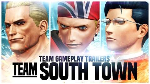 THE KING OF FIGHTERS XIV Team South Town Trailer