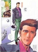 Souji sendo en el manga que realizo Andy Seto