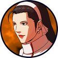 Chizuru kagura portrait kof xi