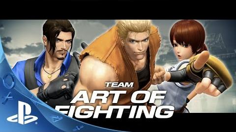THE KING OF FIGHTERS XIV - Team Art of Fighting Trailer PS4