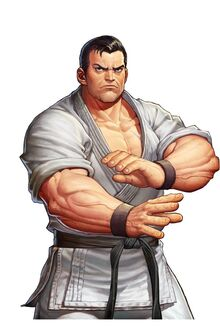 Takuma Sakazaki 95 the king of fighters all stars.jpg