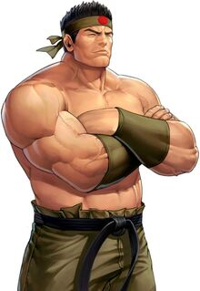 Goro Daimon 95 the king of fighers all stars.jpg