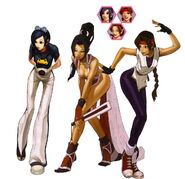 Woman Fighters Team2002