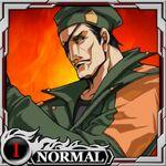 Heidern kof x fatal fury card
