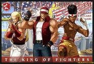 Fatal fury team kof xiii card by charlydaimon21-d41jexr