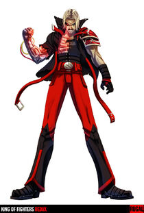 King of Fighters Redux Rugal by digitalninja.jpg
