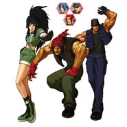 Ikari warriors team kof 2002