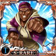 Lucky kof x fatal fury card