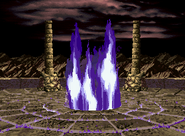 Flames stage 97