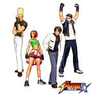 Hero Team KOF EX