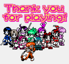 Snk gals fighters thank you for playing by zeref ftx-d9sa4fa