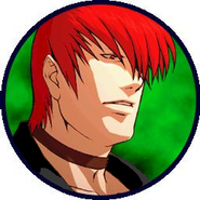 Another iori portrait kof xi