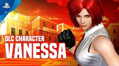 The King of Fighters XIV - Vanessa DLC Character Trailer PS4