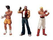 Fatal Fury Team KOF 13 by KainStormwolf