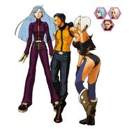 King Of Fighters 2001 Team