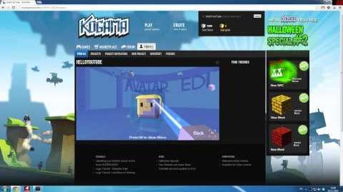 KoGaMa Tutorials - Avatar Edit Tutorial (HD) (0.9