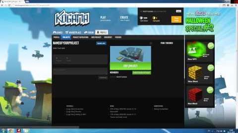 KoGaMa Tutorials - Create Project Tutorial (HD) (0.9
