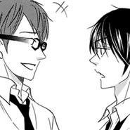 Tsubaki and hijiri
