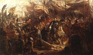 Sobieski Sending Message of Victory to the Pope