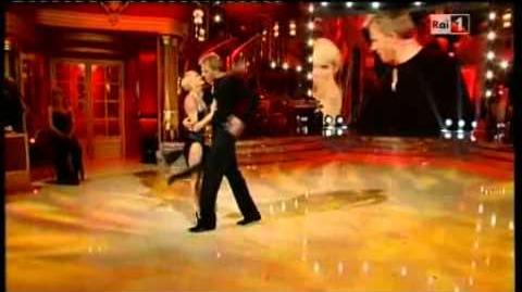 Каспар Каппарони на «Танцах со звёздами»