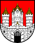 Wappen at salzburg stadt