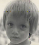 Этторе Басси в детстве
