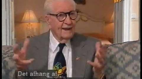 Carl Barks in Denmark, TV-interview (1994)
