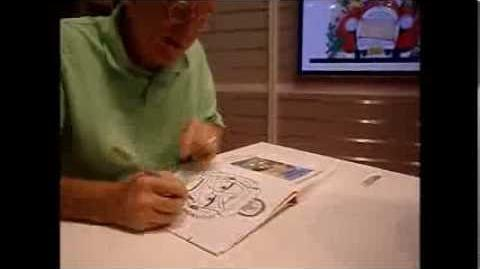 Don Rosa draws Glittering Goldie - 2013