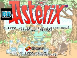 1992 -60fps- Asterix DEMO
