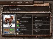 MEP Card Monsters - Savage Wolf
