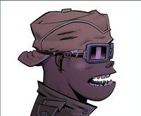 Alternate art for Demon Days Russel