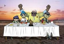 Gorillaz signing