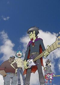 4 apes by Gorillaz