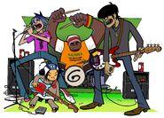 8 - Band, Green-set (1999)