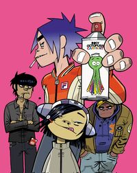 Noodle and Gorillaz Phase 1