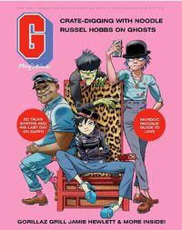 Gorillaz G Magazine