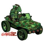 1 - Gorillaz Cover