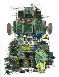 Russels hip hop machine