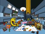 2-D's Room (Kong Studios)