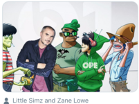 Gorillaz and Zane Lowe