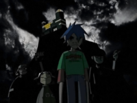 Front Page Gorillaz