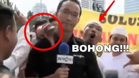 Video Detik detik Wartawan Metro TV Diusir Pendemo 212 di Monas