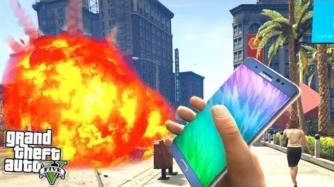 GTA 5 - EXPLOSIVE Samsung Galaxy Note 7?! (GTA 5 Mods Showcase)