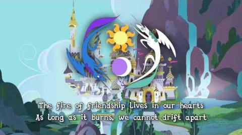 """National Anthem of Equestria """"The Heart Carol"""""""
