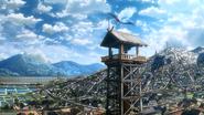 Aragane Station Watchtower